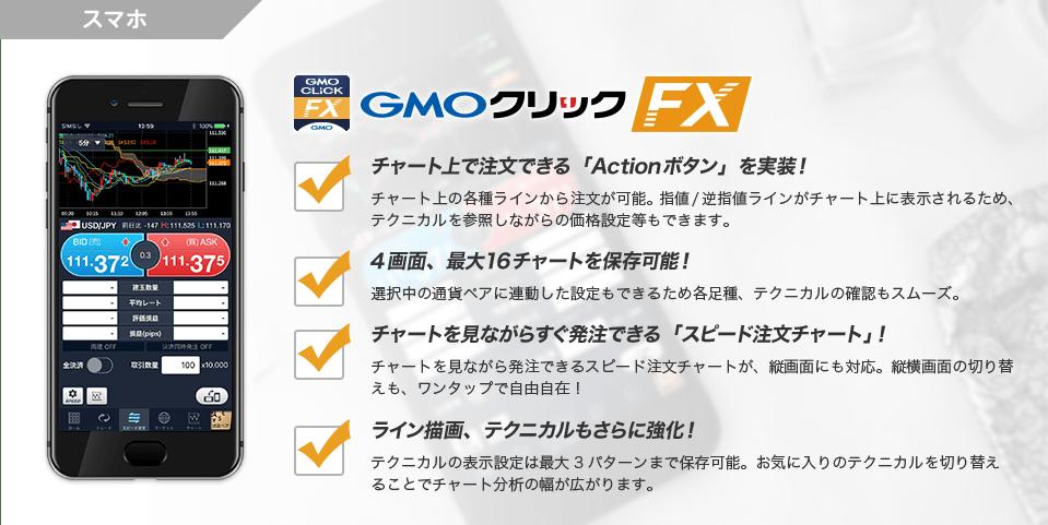 GMOクリックFXアプリ